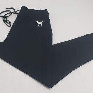 PINK Victoria Secrets Black Super Soft Sleepwear